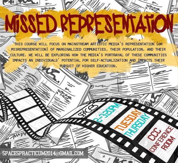 Missed Representation Flyer
